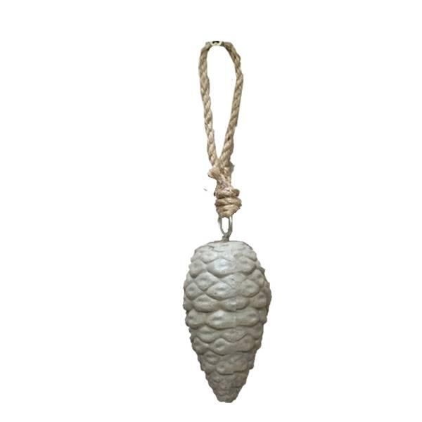 GeWoon Dennenappel cement - 14 cm