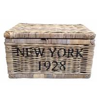Rieten mand - New York 1928