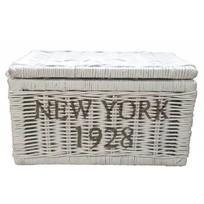 Witte rieten mand - New York 1928