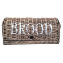 Bruine rieten broodmand - Brood