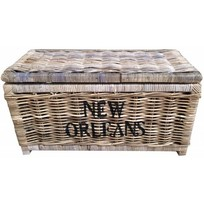 Grote rieten mand L - New Orleans