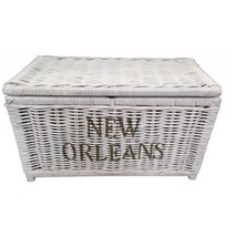 Witte rieten mand L - New Orleans
