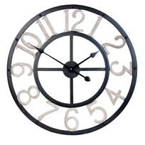 Wandklok zwart/grijs - 60 cm