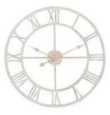 J-Line Gebroken witte wandklok - 60 cm
