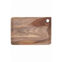 Snijplank hout - 22x32xH1,5 cm