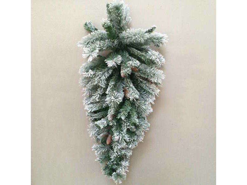 PTMD Collection Kerstboom Snowy L - 120x40 cm