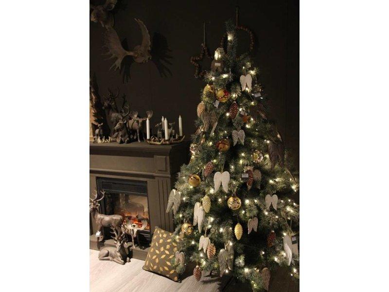 GeWoon Kerstboom met lichtjes - 210 cm