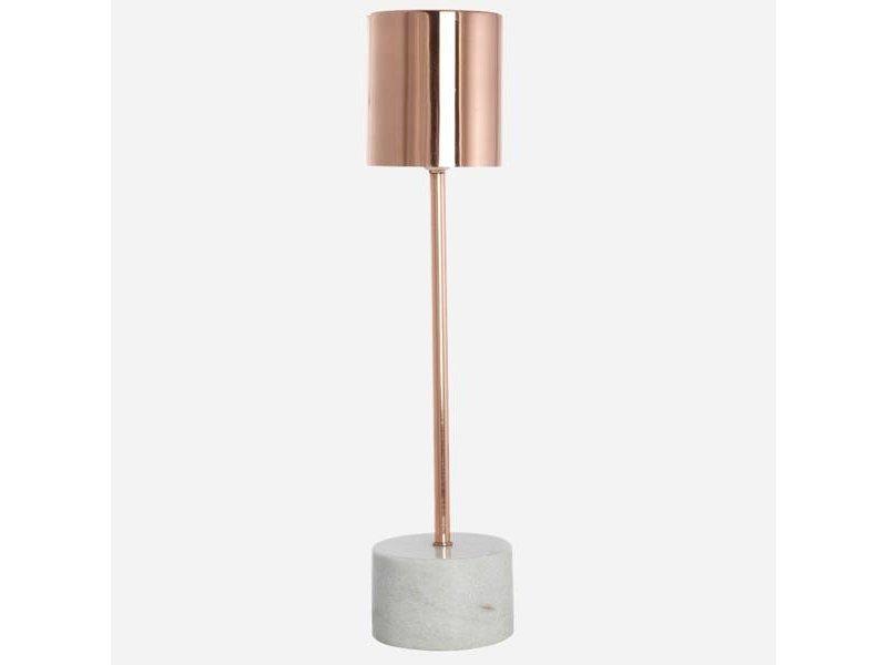 House Doctor Tafellamp Marmer koper - 10,5x50 cm