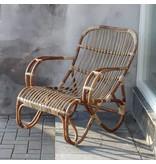 GeWoon Naturel rotan loungestoel - Mahakan