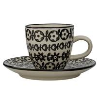 Espresso kop met schotel - Ø11,5 cm