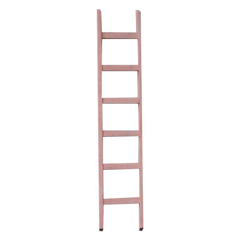 GeWoon Decoratie ladder roze 160 cm