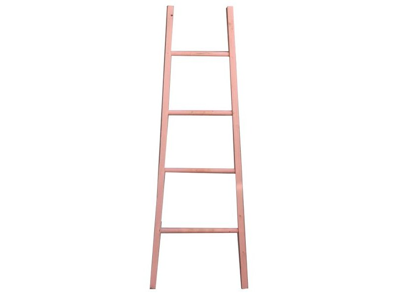 GeWoon Decoratie Ladder Roze - B48xH155 cm