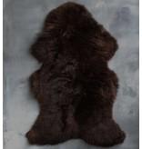 GeWoon Schapenvacht Bruin - 95 cm