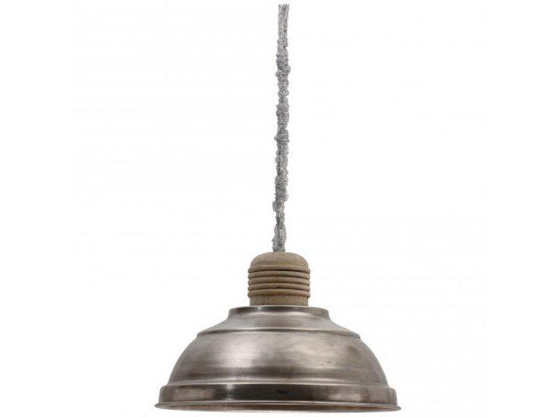 PTMD Collection Industriële hanglamp ijzer - 51x51x53 cm