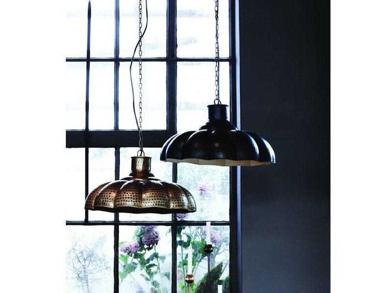 Trademark Living Hanglamp Matzwart - Ø46 cm
