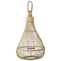 Lantaarn Licia bamboo - 33x54 cm
