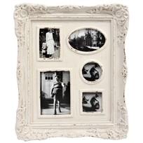 Multi fotolijst wit - 50,5x5,2x41,5 cm