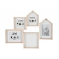 Fotokader huis - 57x6x46 cm