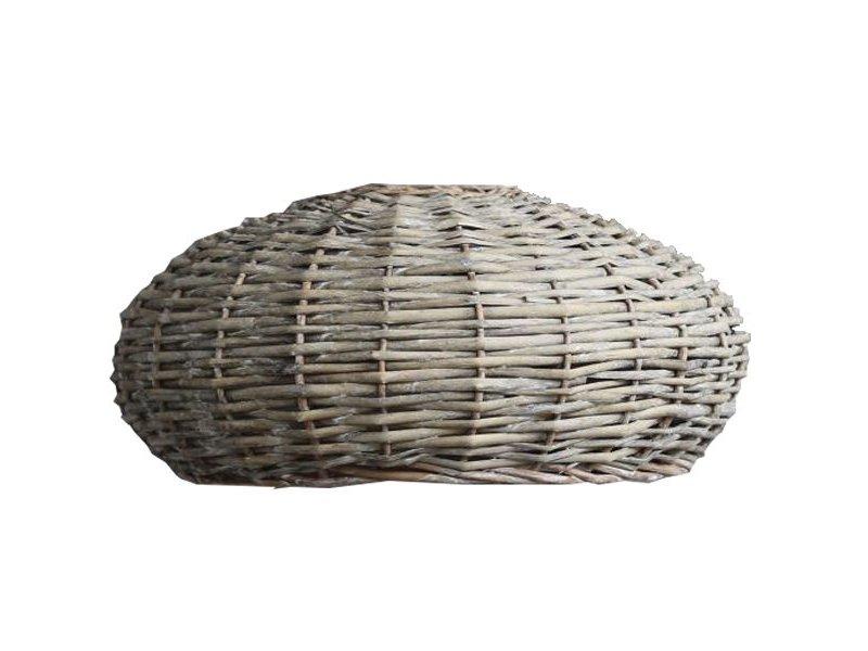 GeWoon Rotan Hanglampenkap Grey - Ø45xH30 cm