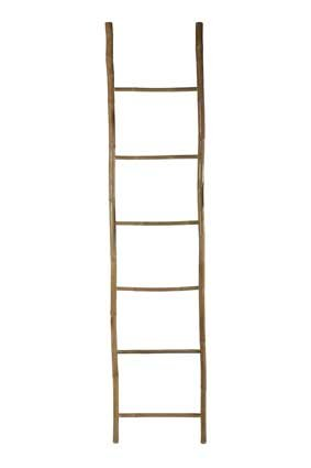 House Doctor Decoratie ladder bamboo-naturel 50x220 cm