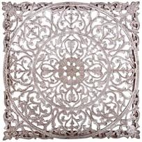 Wandpaneel Bruin/MDF - 60x60x3 cm
