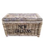 GeWoon Grote rieten mand XL - New Orleans