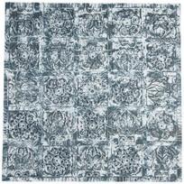 Wandpaneel Block Groen/Blauw - 60x60x4 cm