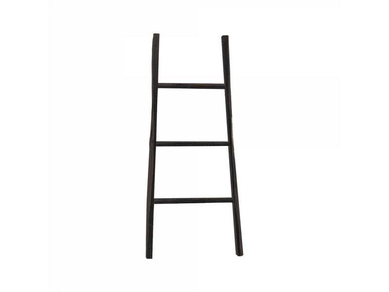 GeWoon Decoratie ladder zwart - 38x110 cm