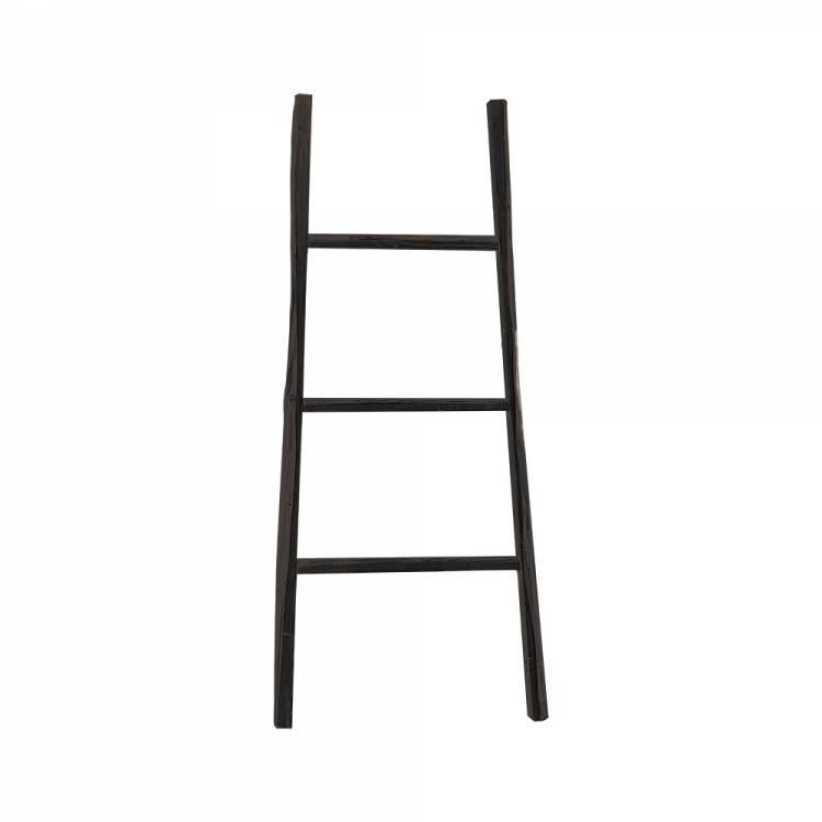 GeWoon Decoratie ladder zwart 38x110 cm