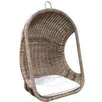 Rotan Hangstoel Dicht - 77x73xH120 cm