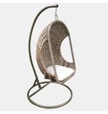 GeWoon Rotan Hangstoel Dicht - 77x73xH120 cm