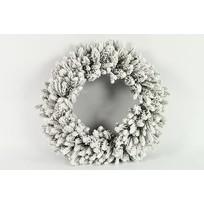 Dennenkrans Snowy L wit - 60 cm