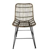 GeWoon Rotan stoel - 44x55xH83 cm