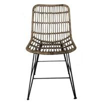Rotan stoel - 44x55xH83 cm