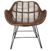 Rieten stoel - 64x72xH87 cm