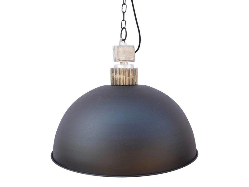 GeWoon Hanglamp Factory Zwart - 50 cm