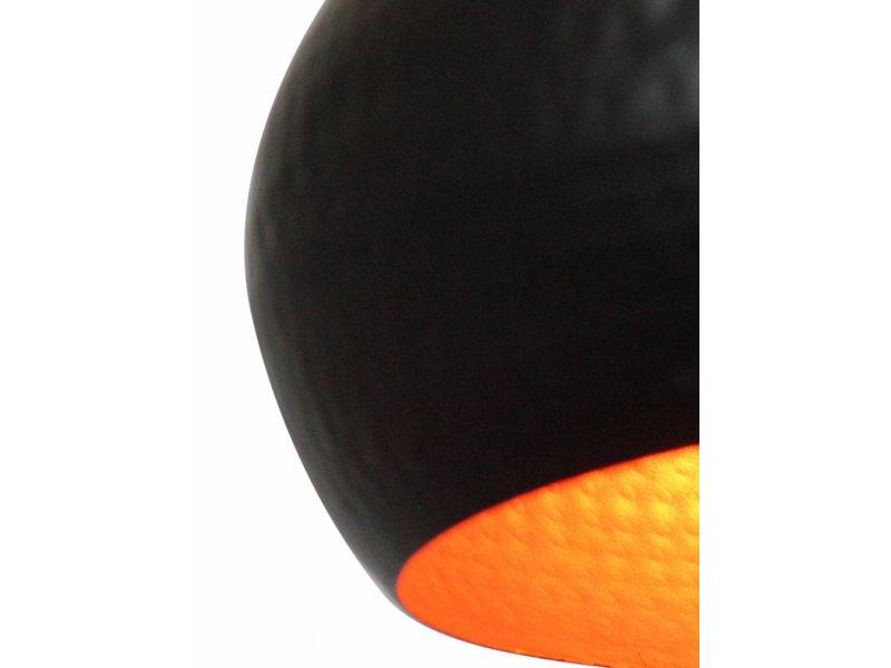 GeWoon Hanglamp Artisan XL Zwart - 40x35 cm