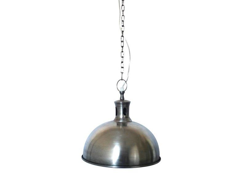 GeWoon Hanglamp Antiek Zilver - 28x25 cm