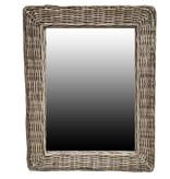 GeWoon Rotan Spiegel - 65x45x3 cm