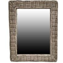 Rotan Spiegel - 85x65x3 cm