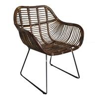 Rieten stoel - 68x56xH88 cm