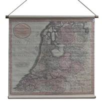 Landkaart Verenigde Nederlanden - 90x82 cm
