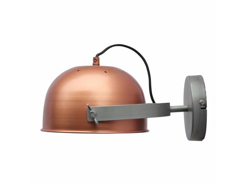 GeWoon Wandlamp Retro Koper - 22x13x32 cm