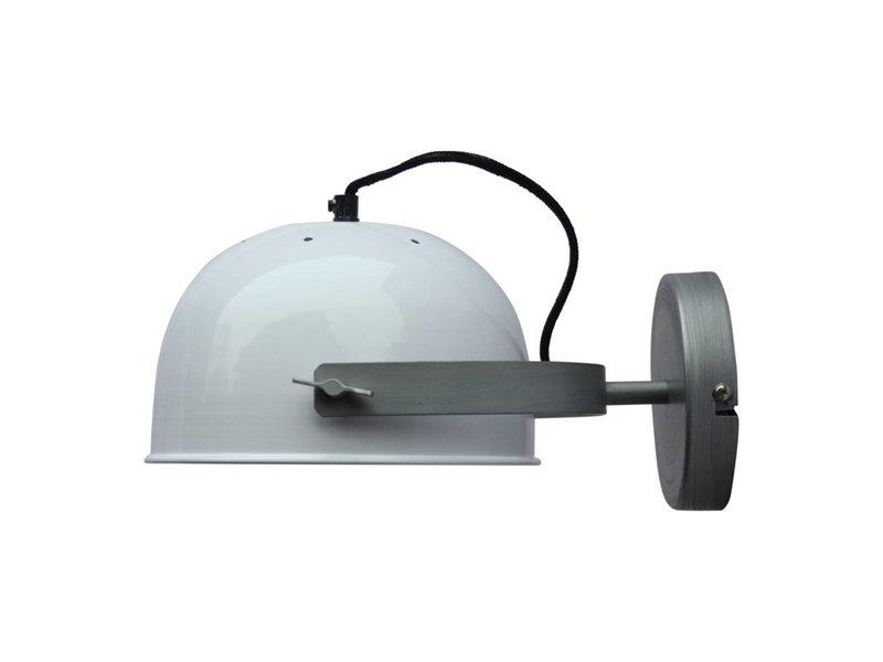 GeWoon Wandlamp Retro Wit - 22x13x32 cm