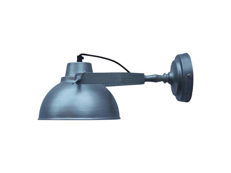 GeWoon Wandlamp Urban antiek zink - 20x15x36 cm