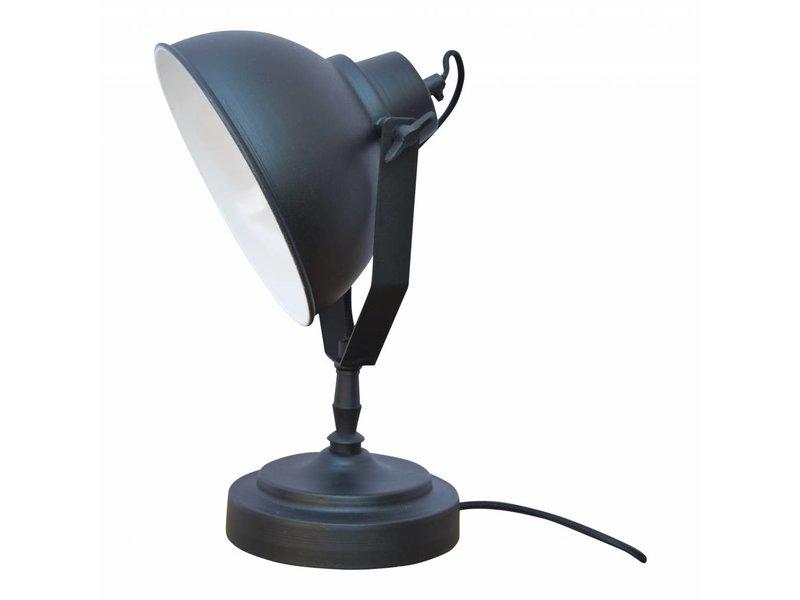 GeWoon Tafellamp Vintage Black - 20x39x18 cm