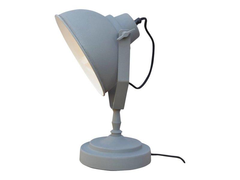 GeWoon Tafellamp Vintage Grey - 20x39x18 cm