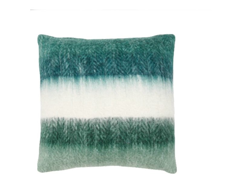 Lifestyle Sierkussen Mahia Stripes Groen - 50x50 cm