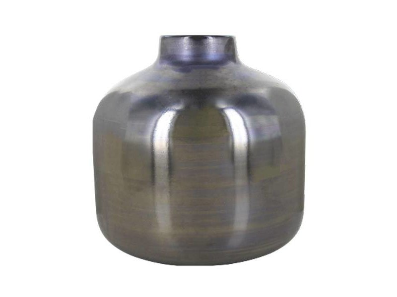 Lifestyle Vaas Avon Round Grijs - 21 cm