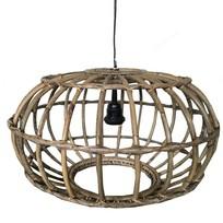 Rotan Hanglamp Greywash - Ø50xH30 cm